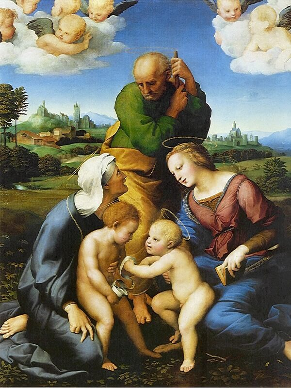 Canigiani Holy Family - by Raphael
