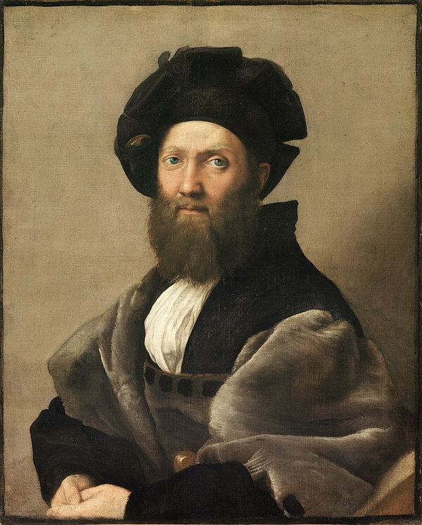 Image result for raphael portrait of castiglione