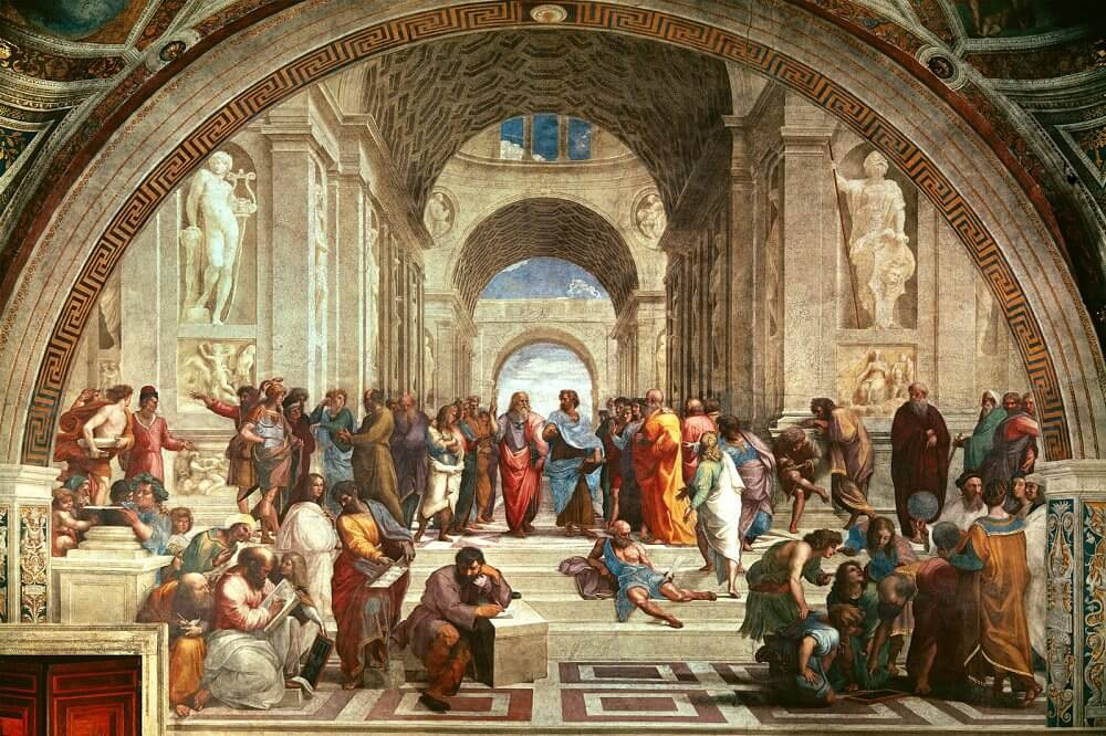The School of Athens - by Raphael