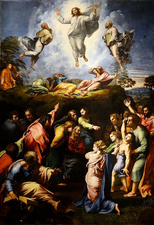 The Transfiguration - by Raphael